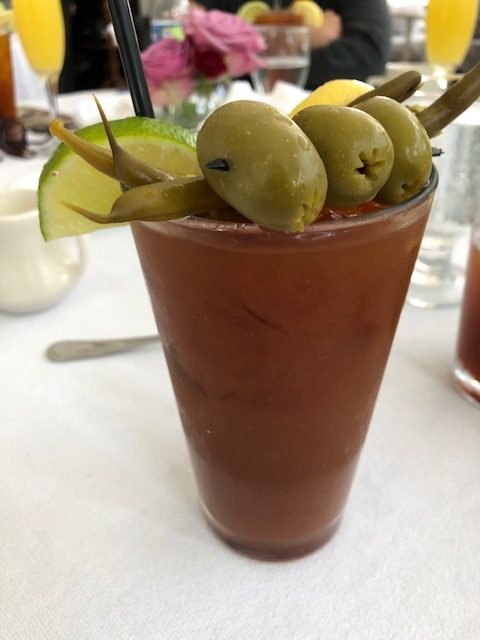 A New Orleans Bloody Mary.