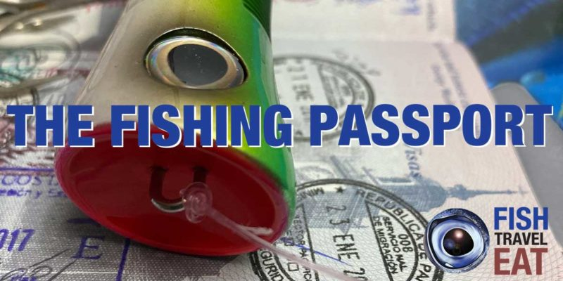 Stamped passport with big popper