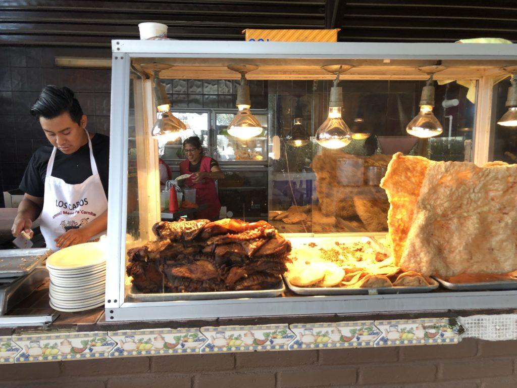 Local taco restaurant in los Cabos Mexico.